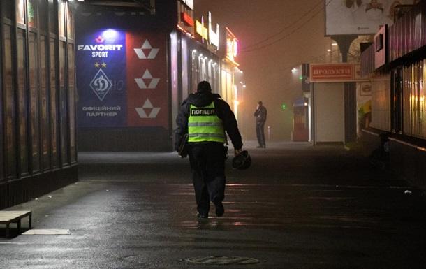 На рынке в Киеве посреди ночи взорвалась граната