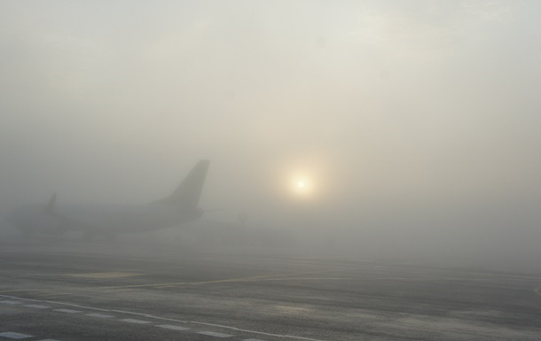 В аэропортах по всей Украине отменяют рейсы из-за тумана