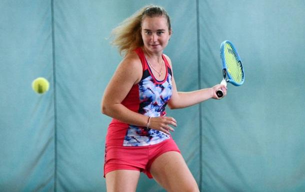 Українка Снігур вийшла в фінал юніорського Підсумкового турніру