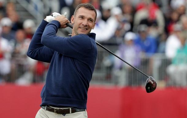 В правление федерации гольфа Украины вошел Андрей Шевченко
