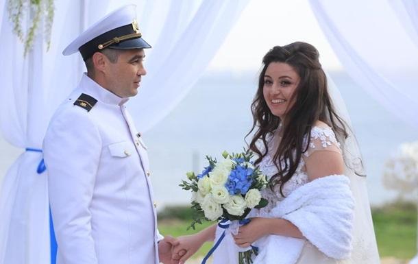 Звільнений моряк Беспальченко відсвяткував весілля