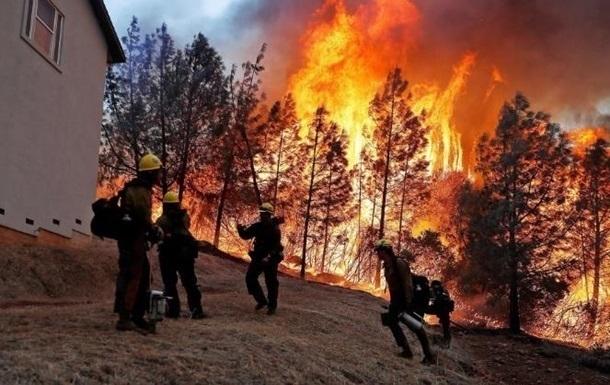 Пожежі в Каліфорнії: евакуйовано 180 тисяч людей
