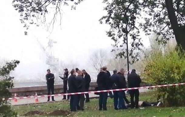 Под мэрией Николаева обнаружили труп