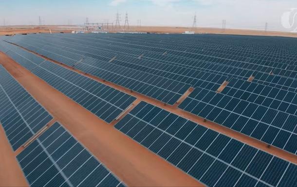 У Сахарі запустили найбільшу у світі сонячну електростанцію