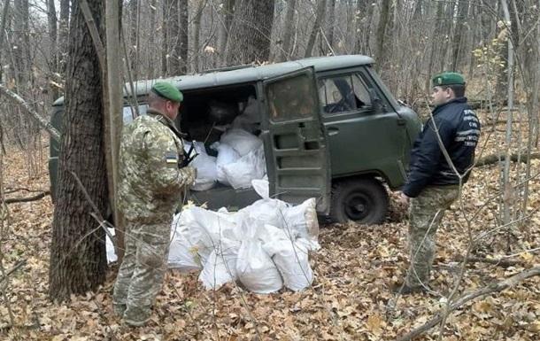 Контрабандисти намагалися побудувати  міст  з Росії в Україну