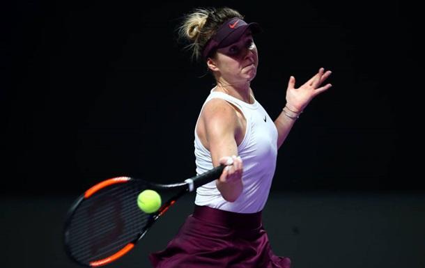 Свитолина победила в первом матче Итогового турнира WTA