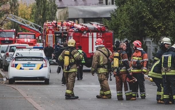 У Києві горить Лікарня швидкої допомоги