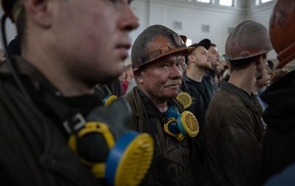 На территории шахты на Донбассе произошел пожар