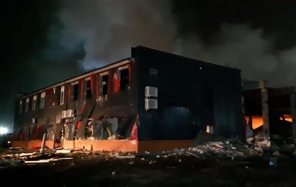 Пожар на заводе в Днепре: стали известны подробности