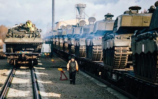 Великобритания перебросила танки в Эстонию