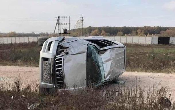 Под Киевом подросток перевернулся на Land Cruiser и погиб