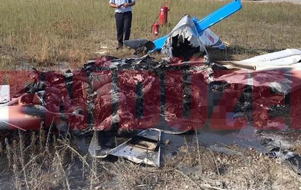 На Кипре упал тренировочный самолет, есть погибшие