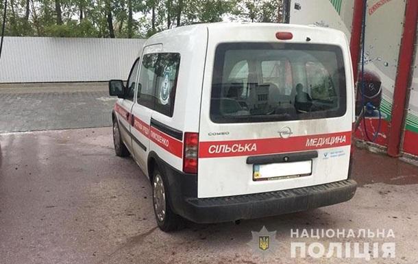 На Тернопольщине мужчина угнал карету  скорой помощи