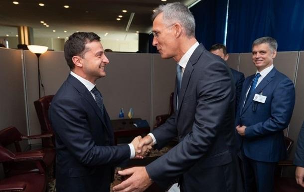 Зеленський зустрінеться з генсеком НАТО