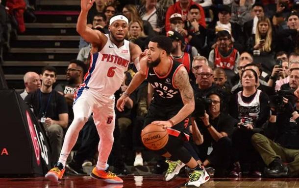 НБА: Детройт з Михайлюком не зміг обіграти Торонто, Вашингтон програв Х юстону
