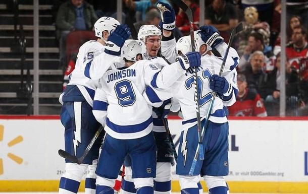 НХЛ: Тампа-Бей обіграла Нью-Джерсі, Монреаль розгромив Арізону