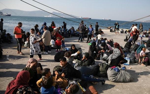 За останні дві доби до Греції прибули майже 800 мігрантів