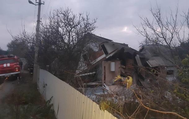 На Київщині через вибух газу завалилася частина житлового будинку