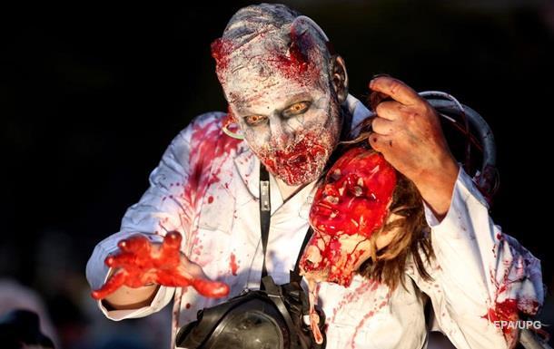 В Мире отпраздновали жуткий праздник Хэллоуин