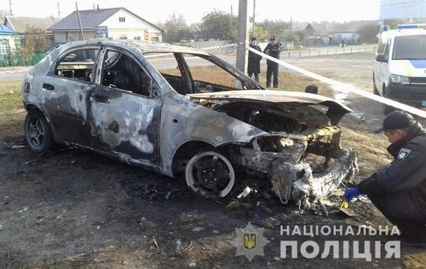 На Харківщині чоловік живцем згорів у своєму авто