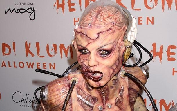 Хайді Клум шокувала вбранням на Хеллоуїн