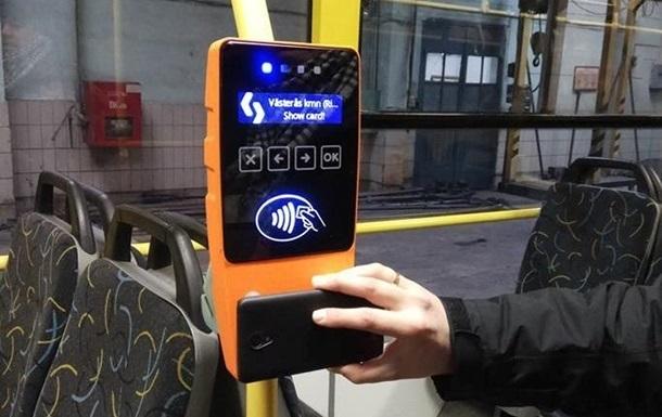 У Києві вводять безготівкову оплату в наземному транспорті