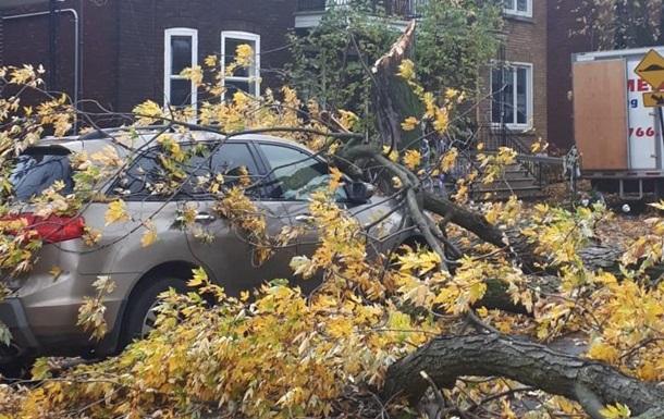 В Канаде почти миллион человек без света из-за бури