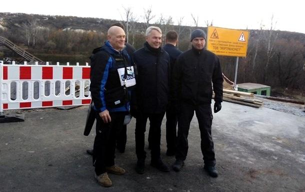 Глава МИД Финляндии посетил Станицу Луганскую