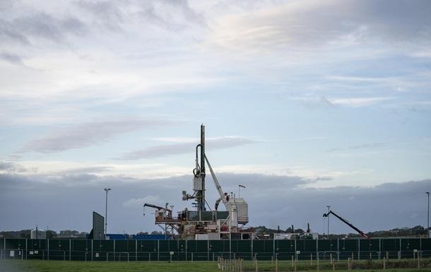 Британия запретила добычу газа методом фрекинга