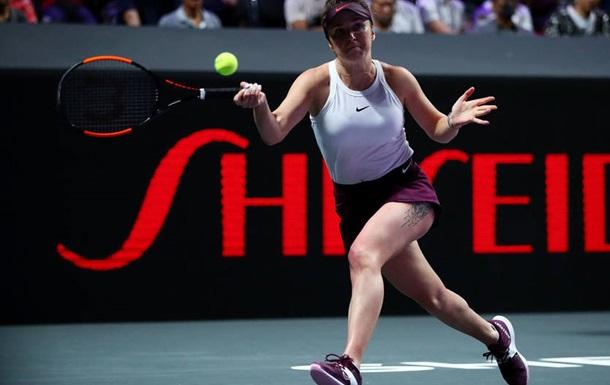 Світоліна не змогла захистити титул чемпіонки Підсумкового турніру  Еліна С