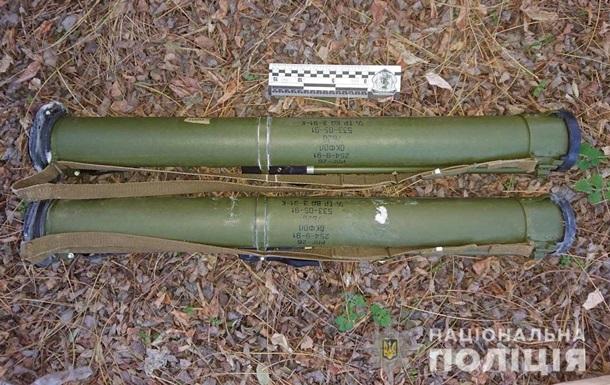 Під Дніпром чоловік збирав гриби, а знайшов гранатомети