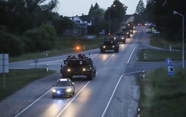 В Литве начались военные учения с участием 11 стран НАТО