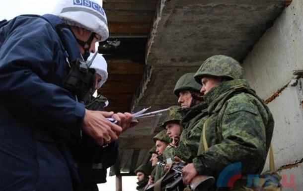 Разведение сил и средств на Луганщине. Боевики публикуют свои фото