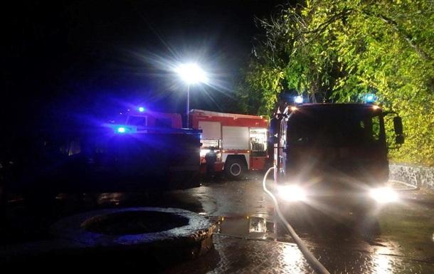 В центре Ровно сгорел ресторан
