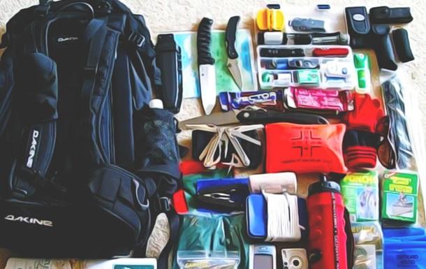 Рюкзак чорного дня : в Міноборони розповіли, як підготуватися до НС