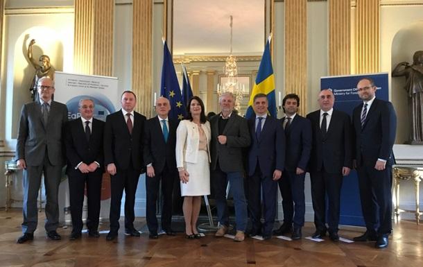 Пристайко в Стокгольме обсудил дальнейшее развитие Восточного партнерства