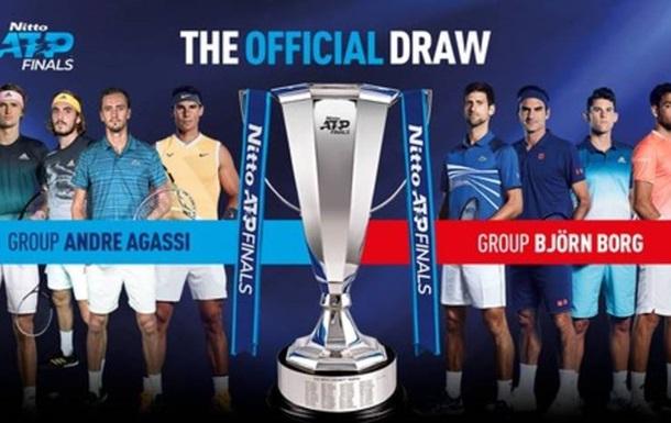 Джокович и Федерер попали в одну группу на Итоговом турнире
