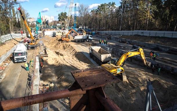 Строительство метро на Виноградарь: фоторепортаж