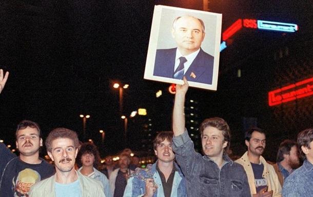 Горбачов: Після падіння Берлінського муру справдилось не все