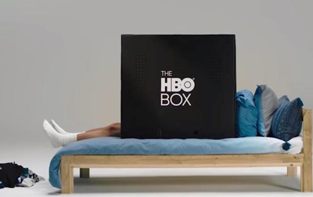 HBO показала картонную коробку для просмотра видео
