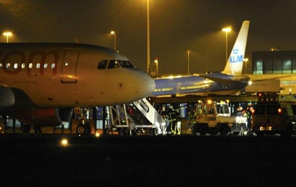 В Амстердаме сообщили о вероятном захвате самолета