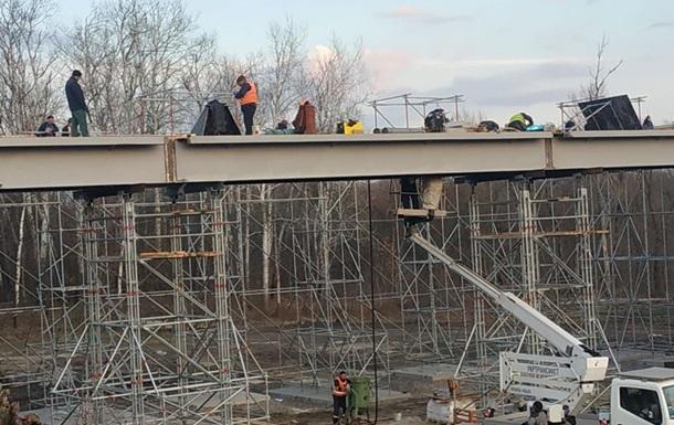 Подготовительные работы по ремонту моста в Станице Луганской завершены