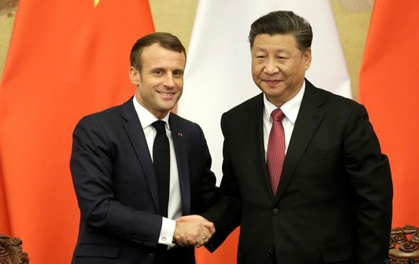Макрон підписав у Китаї торговельну угоду на 13,5 мільярда євро
