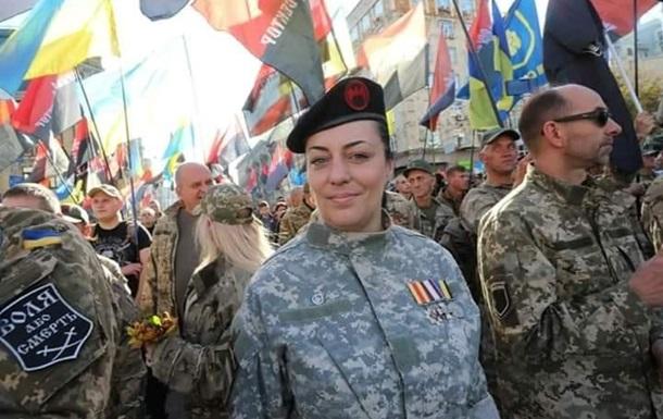 В Киеве арестовали женщину-ветерана АТО