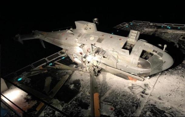 В Италии вертолет разбился об эсминец