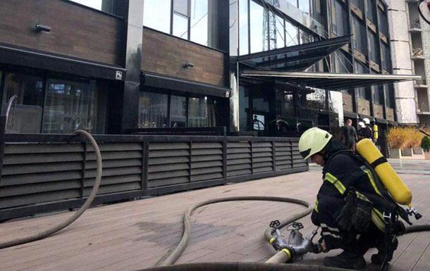 В Одессе загорелся элитный отель на берегу моря