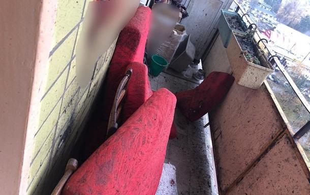 В Харькове мужчина подорвал себя гранатой на балконе