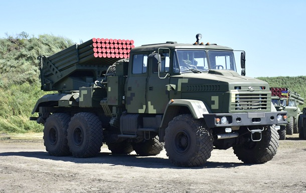 ЗСУ отримали нові розробки озброєння