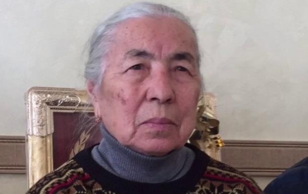 Легендарную крымскотатарску активистку отпустили - Чубаров