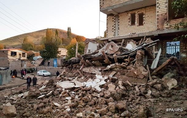 Землетрус в Ірані: кількість постраждалих перевищила 500